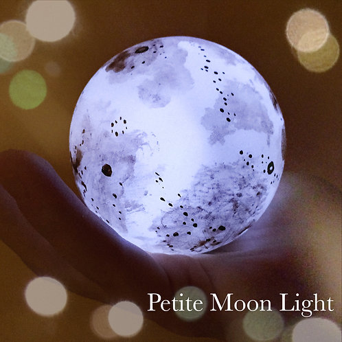 Petite White Moon Light