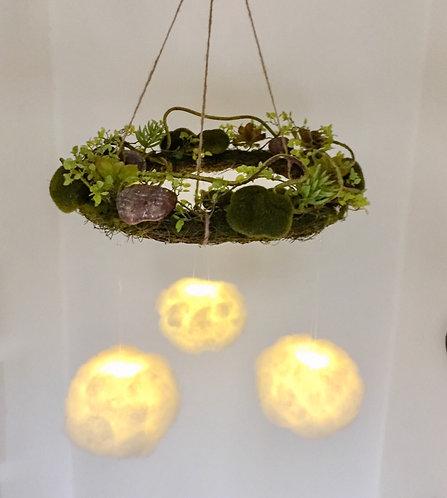 Succulent Dream Cloud Light Mobile