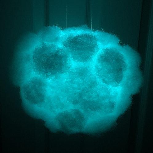 "Petite Rainbow Cloud Light (6"")"