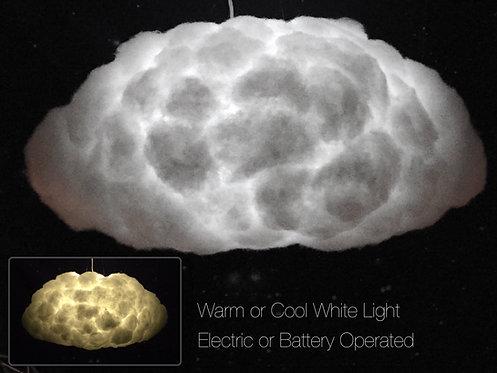 """Large Oval Cloud Light (22"""")"""
