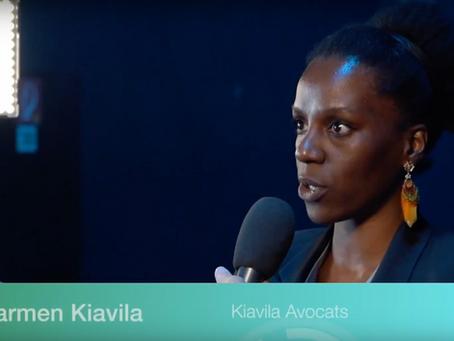 Interview de Maître Carmen Kiavila, Rentrée des Entreprises de la FER.