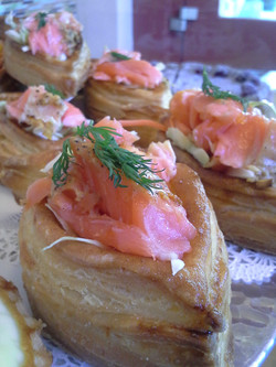 salmon puff pastry