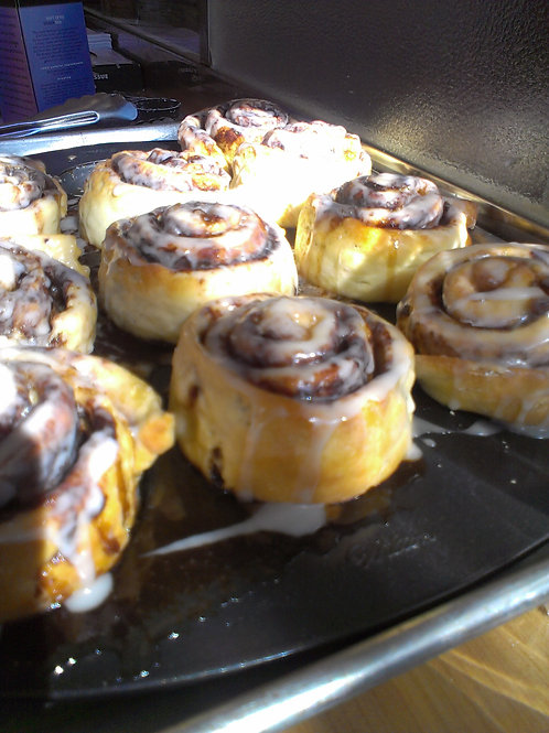 Cinnamon rolls- four (4) pack