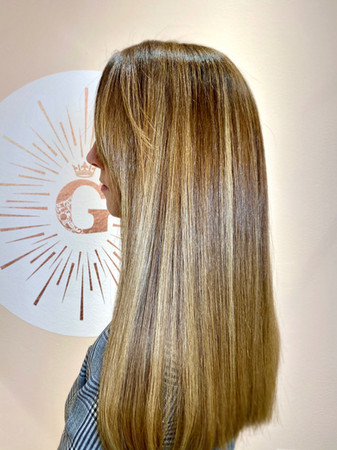 Bronze Colored Highlight