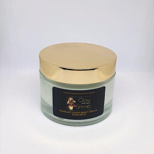Organic - Radiant Glow Body Cream with Rose 200ml