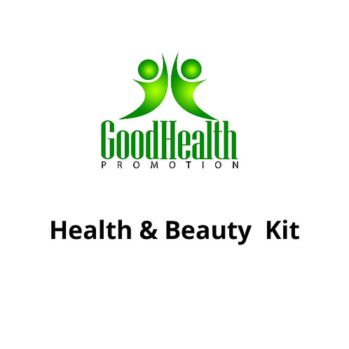 Health and Beauty Kit - Silver Kit