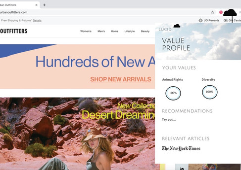 Browser Extension: Shop with ease! No more research or post purchase guilt!