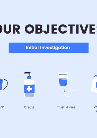 Our Initial Objectives.