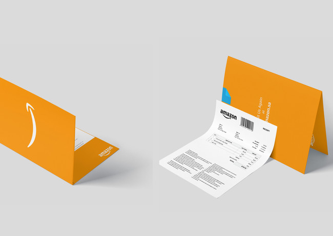 2. Order Envelope: Minimalist design providing customers a more premium and personalized experience with Amazon