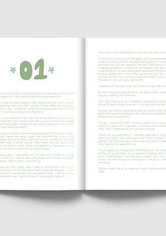Excerpt Pages from Zine