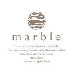 marble logo
