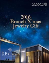 BROOCH X'mas Jewelry Giftリーフレット