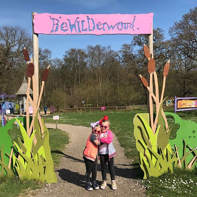 Arrived at _bewilderwood_official 😀😀 #excited #jellyfam