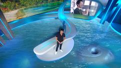 Galileo-Studio unter Wasser