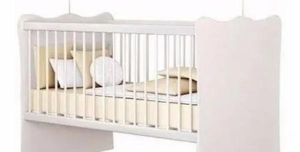 Cuna Infantil Con Parrilla Regulable