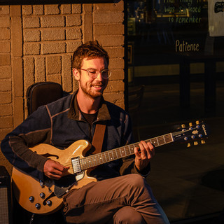 Sam Berstein brings jazz downtown, 2020, Arts on the Avenues