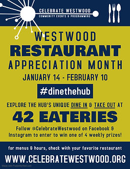 Celebrate Westwood Restaurant Appreciati