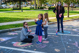 Young Artists Chalk the Park, 2020, Arts on the Avenues