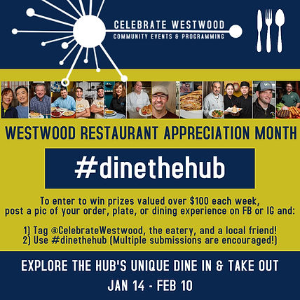 Mini Celebrate Westwood Restaurant Appre