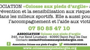 La FFME soutient Colosse Aux Pieds d'Argile