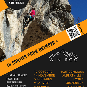 10 sorties pour grimper + !