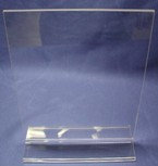 "8.5""W x 11""H Acrylic Top Load Sign Holder"