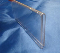 "Acrylic Backpack Arm Sign Holder - 4.5"" x 3"""
