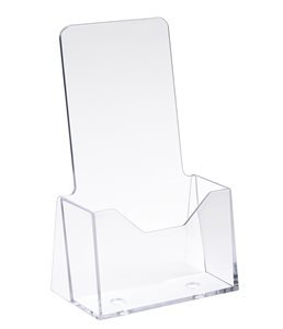 "4"" x 9"" Acrylic Counter Top Brochure Holder"