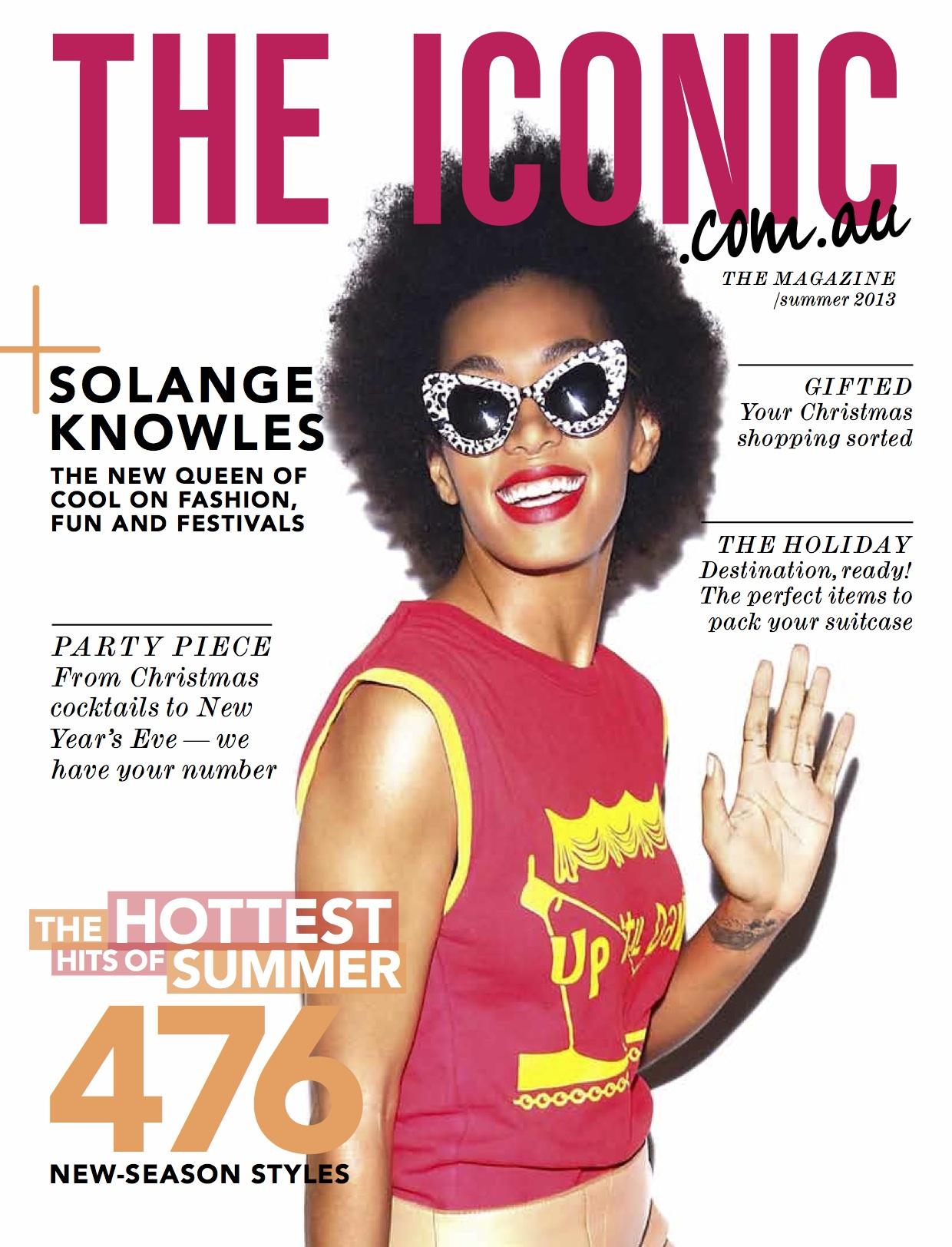 The Iconic magazine