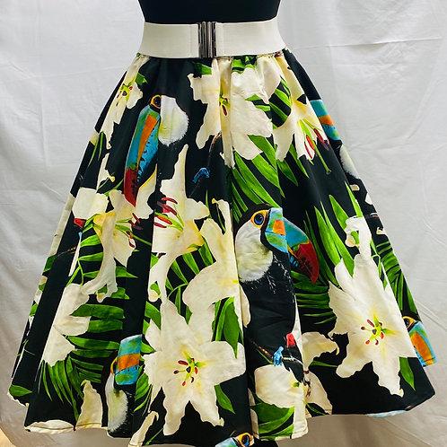 Deborah Toucan Play At That Skirt