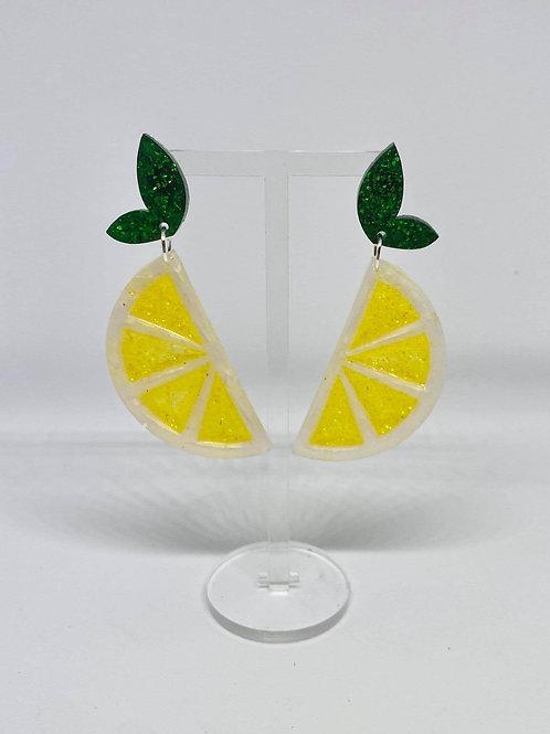 Zingy Lemon earrings