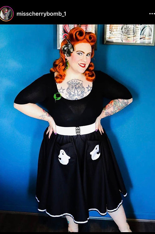 Ghost pretty pocket skirt