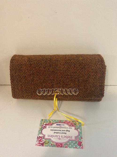 Hebes garden tweed purse