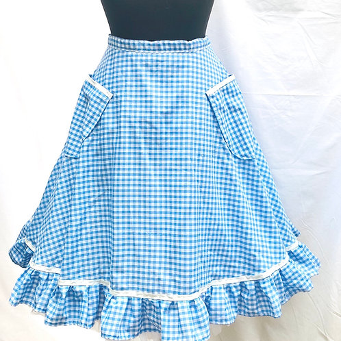 Polly Gingham Skirt