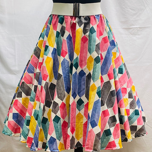 Deborah Multi Crystal Skirt
