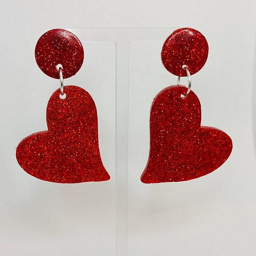 Lovers  Glitter Earrings