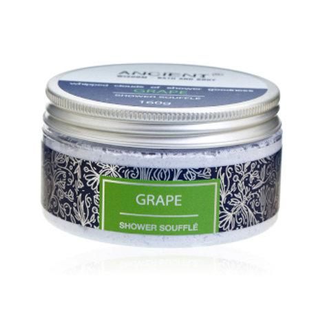 Grape Shower Soufflé