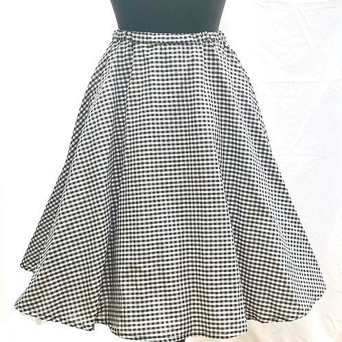 Deborah Gingham Skirt