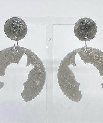 Werewolf earrings