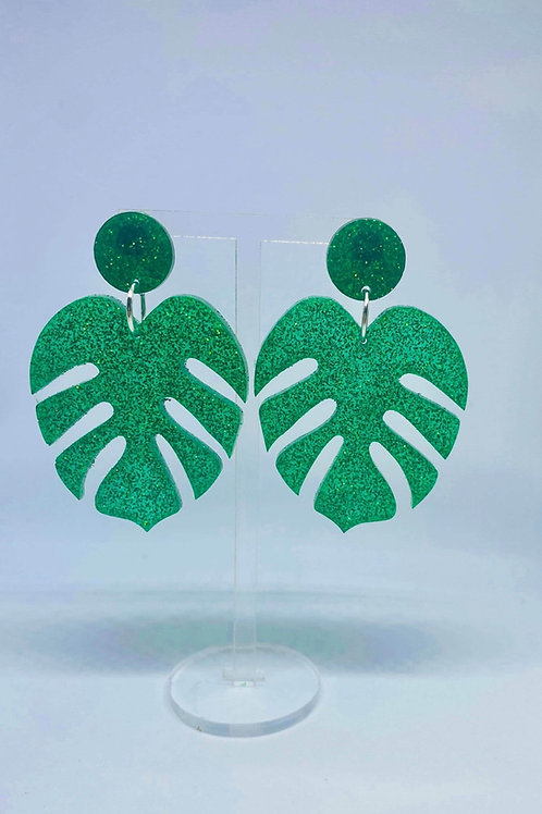 Monstrea Leaf Earrings
