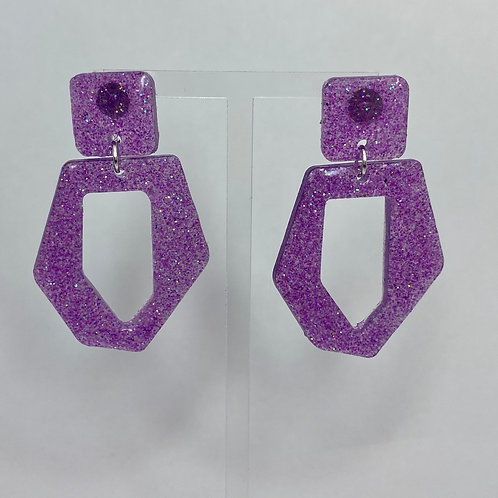 Pippa Glitter Earrings