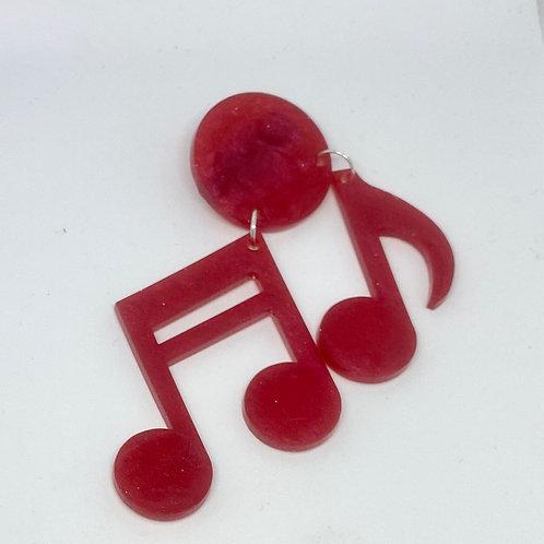 Musicals brooch
