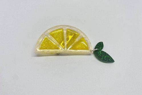 Zingy Lemon Brooch