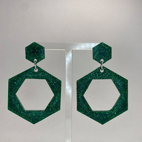 Alison Glitter Earrings