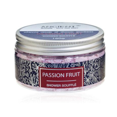 Passion Fruit Shower Soufflé