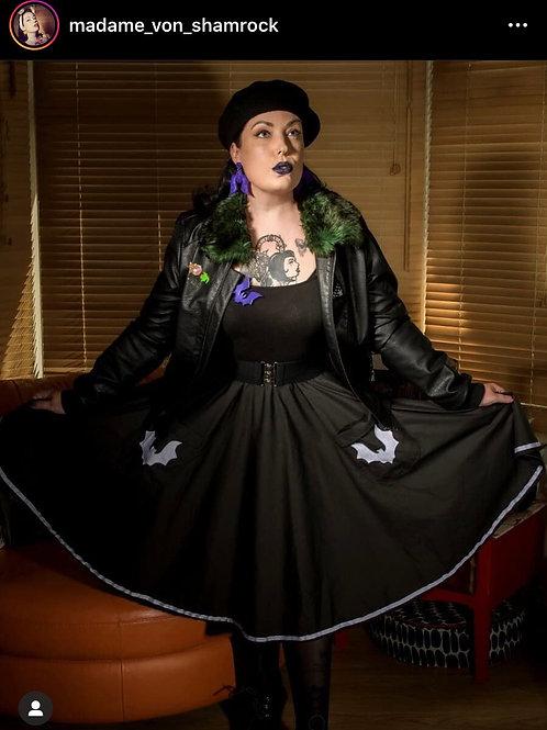 Bat pretty pocket skirt
