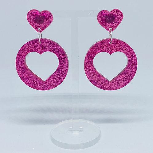 Make my heart whole again earrings