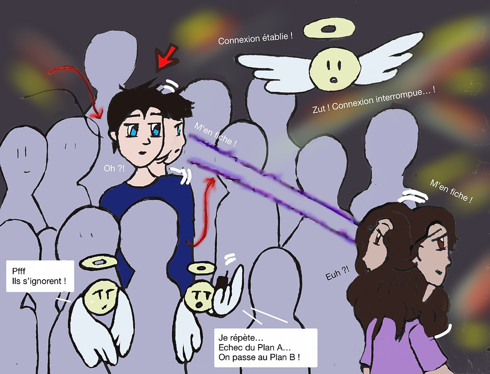 BD, bande dessiné, dessin, humour, ma vie de médium, médiumnité, spiritualité, marie yelahiah, auteure, blog, histoire vraie, contact avec les anges, contact avec les défunts, ange gardien, ange, défunt, spirituel, drôle, émouvant