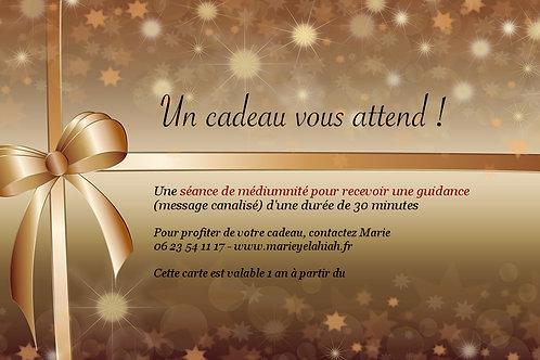 """Carte à OFFRIR """"Guidance"""""""