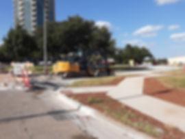 Sidewalk installation, Oct. 23, 2019 [20